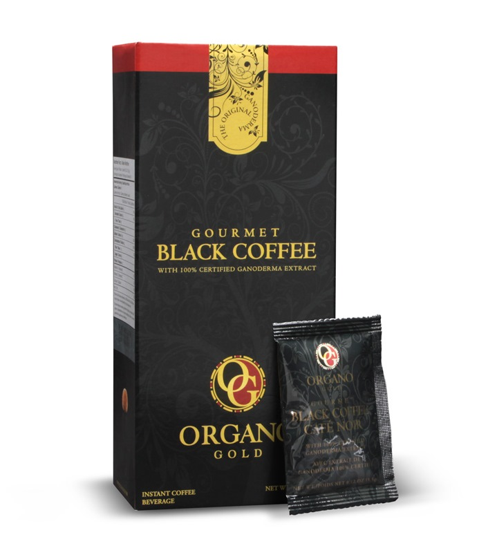 11 Boxes Organo Gold 8x Black Coffee+ 3x Cafe Latte