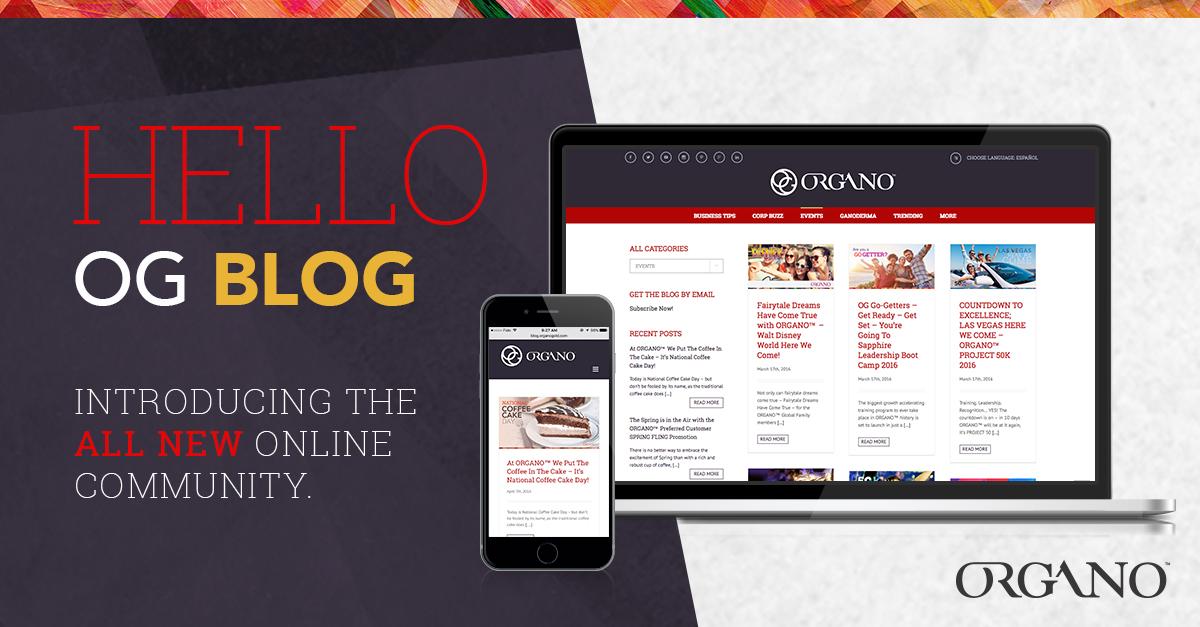 ORGANO™ Official Blog - Taste The Gold