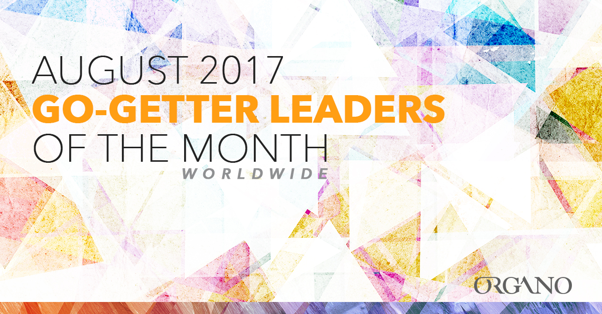 ORGANO Go Getter Recognition