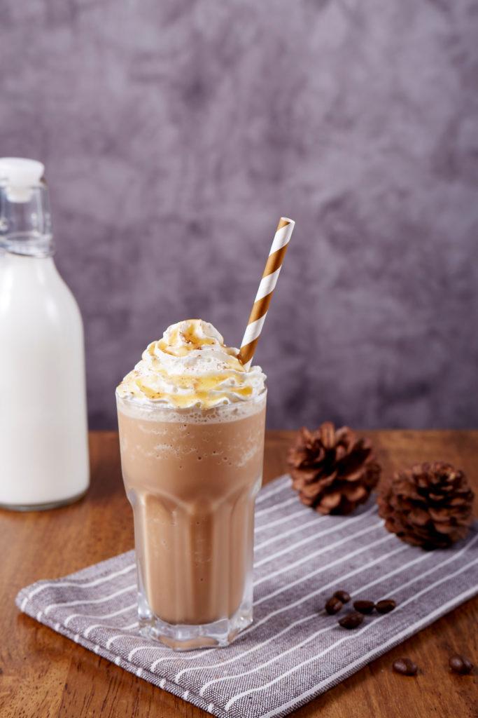 Iced Caramel ORGANO Coffee