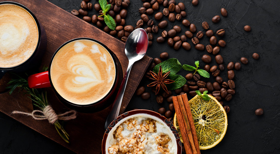 Give your Cappuccino a twist with these recipes