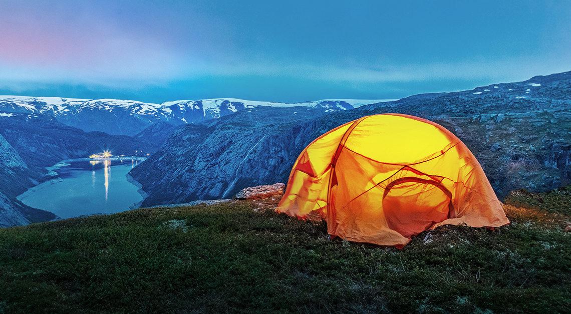 organo winter camping