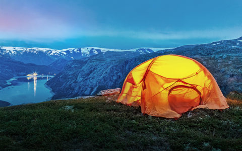 organo winter camping