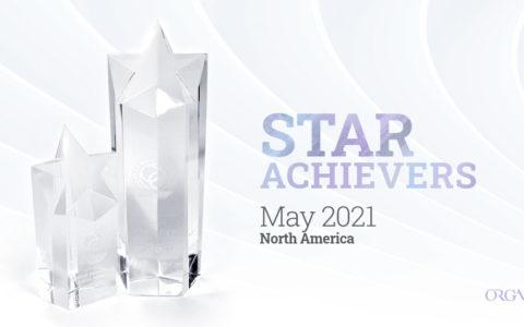 Organo Star Achiever North America